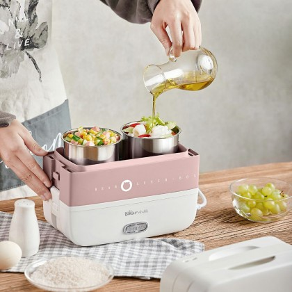 Lunch Box 1.7L BLB-GP17L - Pink / Grey