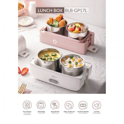 Lunch Box 1.7L BLB-GP17L - Pink / Grey