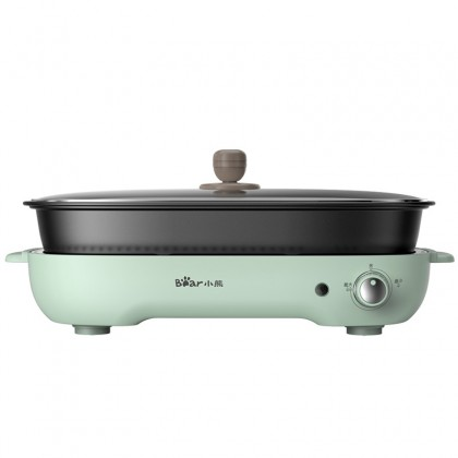 Bear Electric Multifunction Grill Pan BMG3-G4L Household Electric Barbecue Machine Teflon Non-Stick Coating