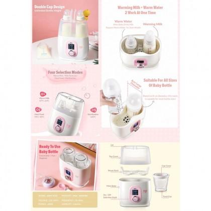 Bear Milk Warmer and Bottle Sterilizer BBW-W2D