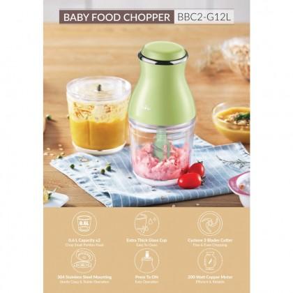Bear Baby Food Chopper 1.2L BBC2-G12L